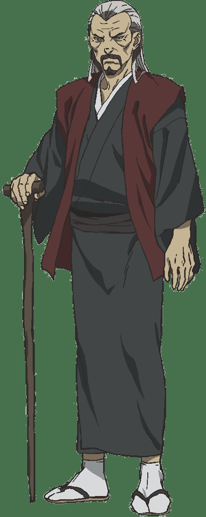 天津三郎 全身絵